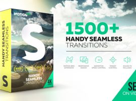 مجموعه آماده ترنزیشن | HANDY SEAMLESS TRANSITIONS | PACK & SCRIPT